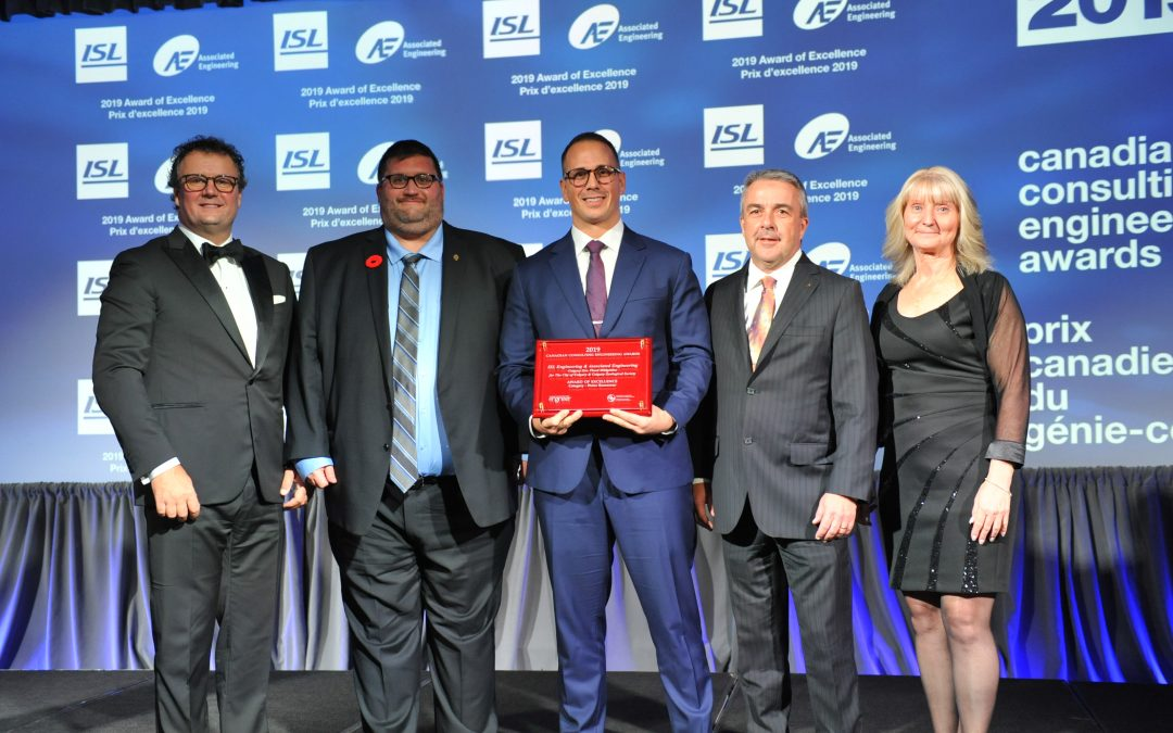 ISL Wins 2019 Canadian Consulting Engineering Award