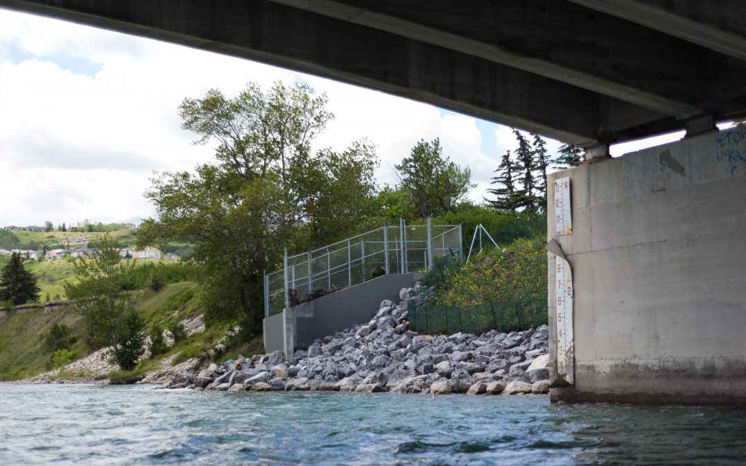 Eroded Riverbank Stabilization – Calgary