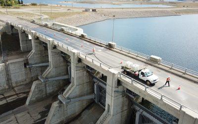 Gardiner Dam Spillway Bridge Structural Evaluation