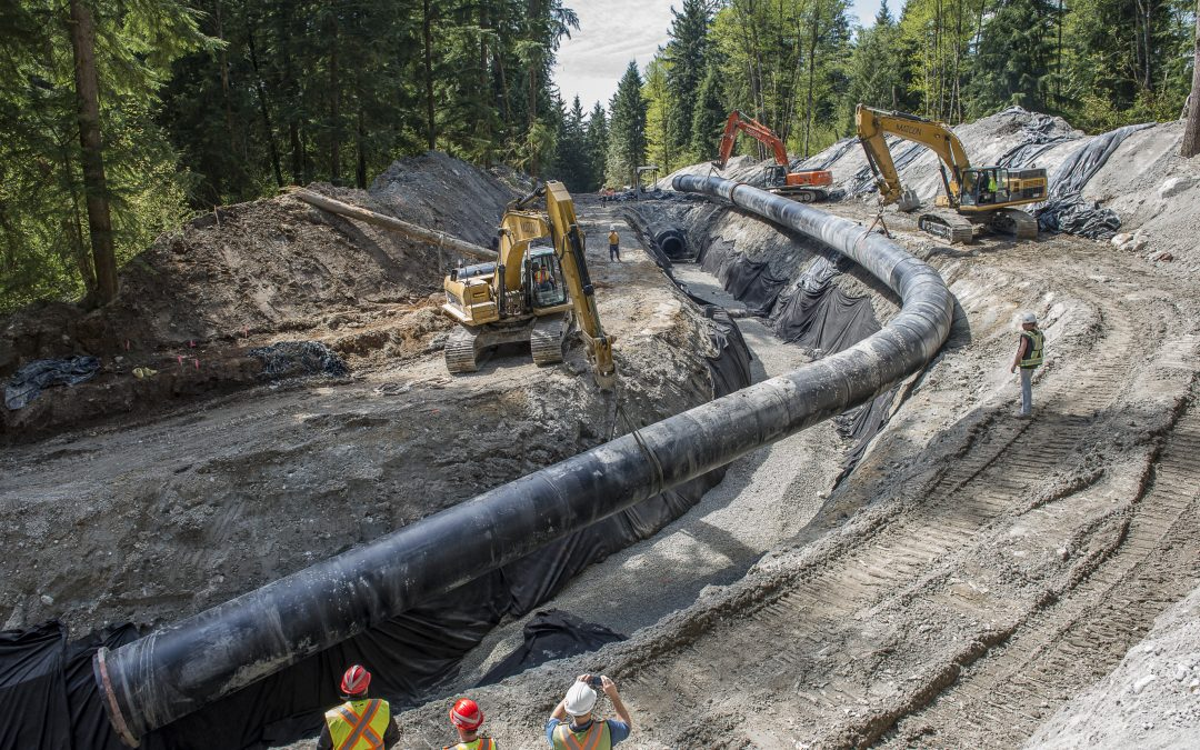 Burke Mountain Stormwater Upper Diversion Project