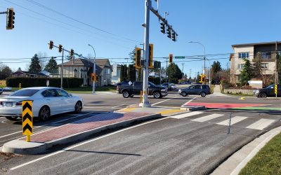 Newton Town Centre Bus Lanes and Intersection Improvements