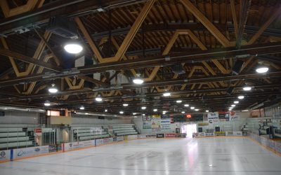 Fernie Memorial Arena Truss Repair