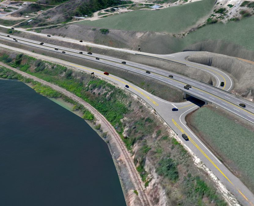 Highway 97 Overpass and Crystal Waters Road Intersection Improvements