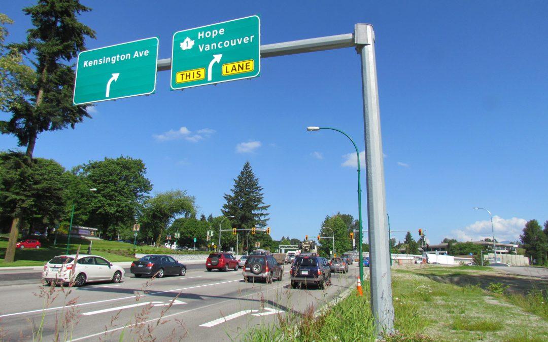 Kensington Avenue and Canada Way
