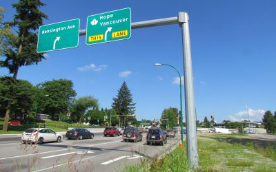 Kensington Avenue and Canada Way