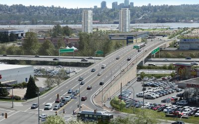 Port Mann Highway 1 — King Edward Street Underpass
